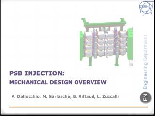 PSB INJECTION : Mechanical Design Overview