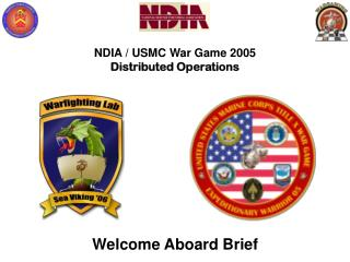 NDIA / USMC War Game 2005 Distributed Operations