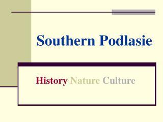 Southern Podlasie