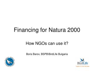 Financing for Natura 2000