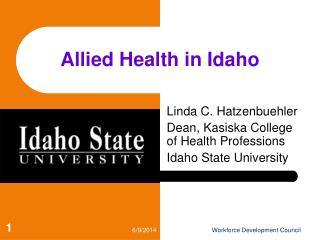 Allied Health in Idaho