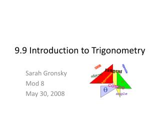 9.9 Introduction to Trigonometry