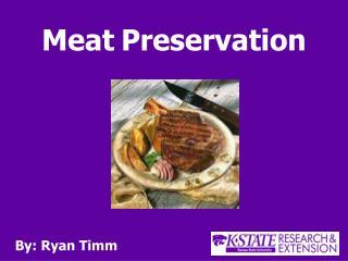 Meat Preservation