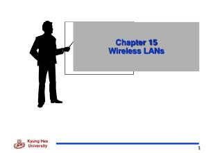 Chapter 15 Wireless LANs