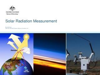 Solar Radiation Measurement