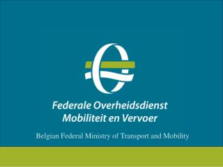 Belgian Federal Ministry of Transport and Mobility