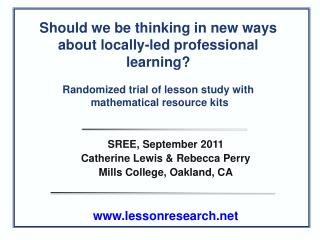 Should we be thinking in new ways about locally-led professional learning?