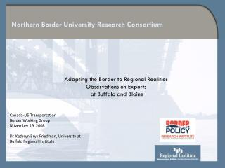 Northern Border University Research Consortium