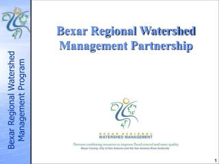 Bexar Regional Watershed Management Partnership