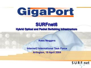 SURFnet6 Hybrid Optical and Packet Switching Infrastructure