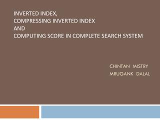 Indexing in Search Engine