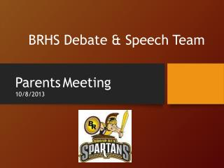 BRHS Debate & Speech Team
