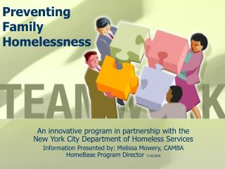 Preventing Family Homelessness