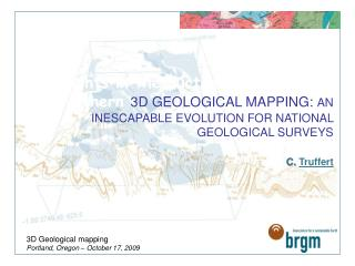 3D Geological mapping Portland, Oregon – October 17, 2009