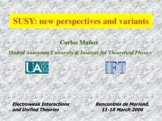 SUSY: new perspectives and variants