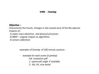 VIIRS - Overlap