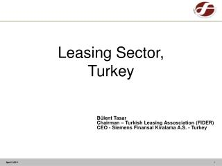 Leasing Sector , Turkey