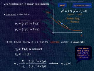 The  physics  of  inflation  and  dark  energy