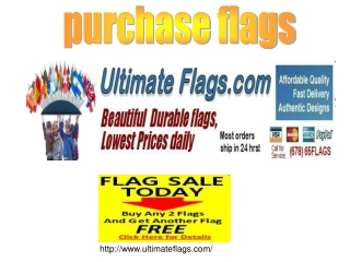 purchase flags