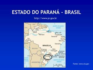 ESTADO DO PARANÁ - BRASIL