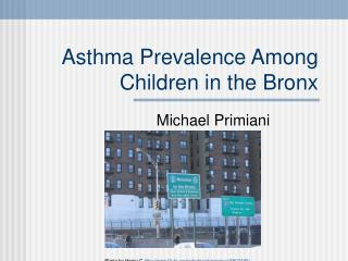 Asthma Prevalence Among Children in the Bronx