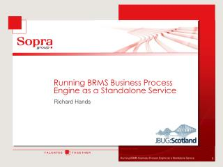Running  BRMS Business Process Engine as a  Standalone  Service