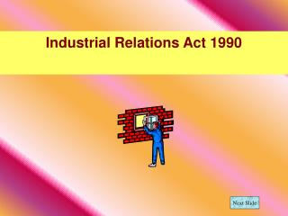Industrial Relations Act 1990