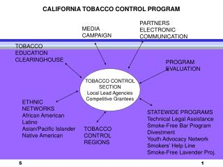 TOBACCO CONTROL SECTION Local Lead Agencies Competitive Grantees