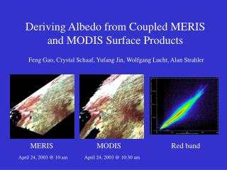 Deriving Albedo from Coupled MERIS and MODIS Surface Products