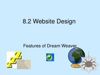 8.2 Website Design