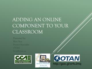 Adding an online component to your classroom