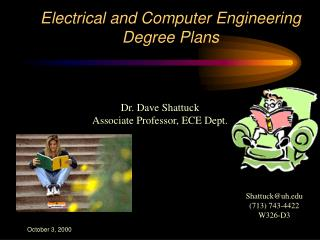 Electrical and Computer Engineering Degree Plans