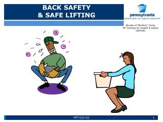 BACK SAFETY & SAFE LIFTING