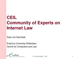 CEIL Community of Experts on Internet Law