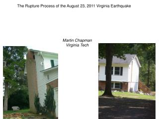 The Rupture Process of the August 23, 2011 Virginia Earthquake