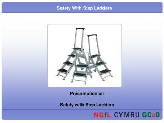 Safety With Step Ladders