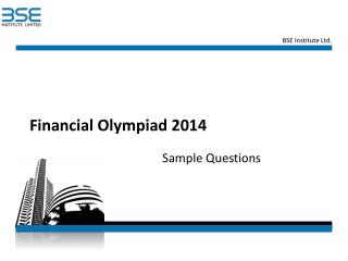 Financial Olympiad 2014