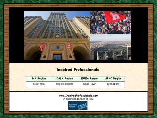 InspiredProfessionals A business partner of IBM