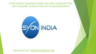 Over view of Graphic design and web design