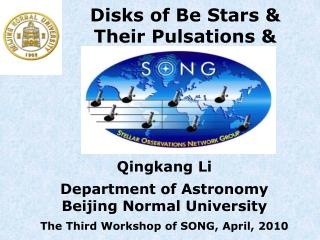 Disks of Be Stars &  Their Pulsations &