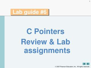 Lab guide #6