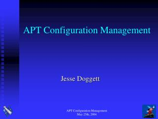 APT Configuration Management
