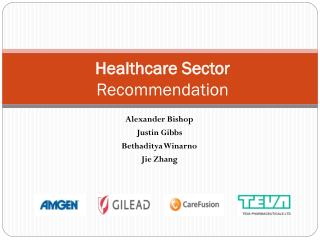 Healthcare Sector  Recommendation