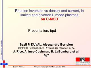 Rotation inversion vs density and current, in limited and diverted L-mode plasmas on C-MOD