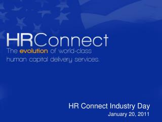 HR Connect Industry Day