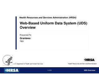 Health Resources and Services Administration (HRSA)