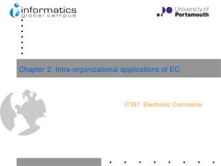 Chapter 2: Intra-organizational applications of EC
