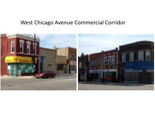 West Chicago Avenue Commercial Corridor