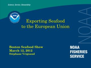 Exporting Seafood  to the European Union