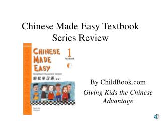 Chinese Made Easy Textbook Series Review